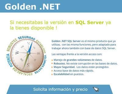 Golden .NET SQL: mayor seguridad para tu base de datos