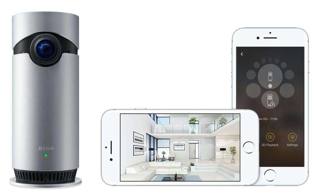 D-Link Omna 180 Cam HD: la primera para Apple HomeKit