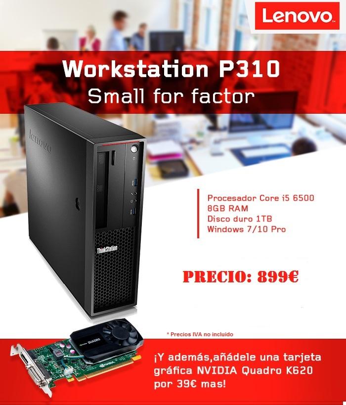 ¿Quien dijo que un workstation tenía que ser grande y caro?