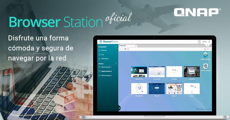 QNAP lanza de forma oficial Browser Station, el cual ofrece experiencias optimizadas de navegación por internet