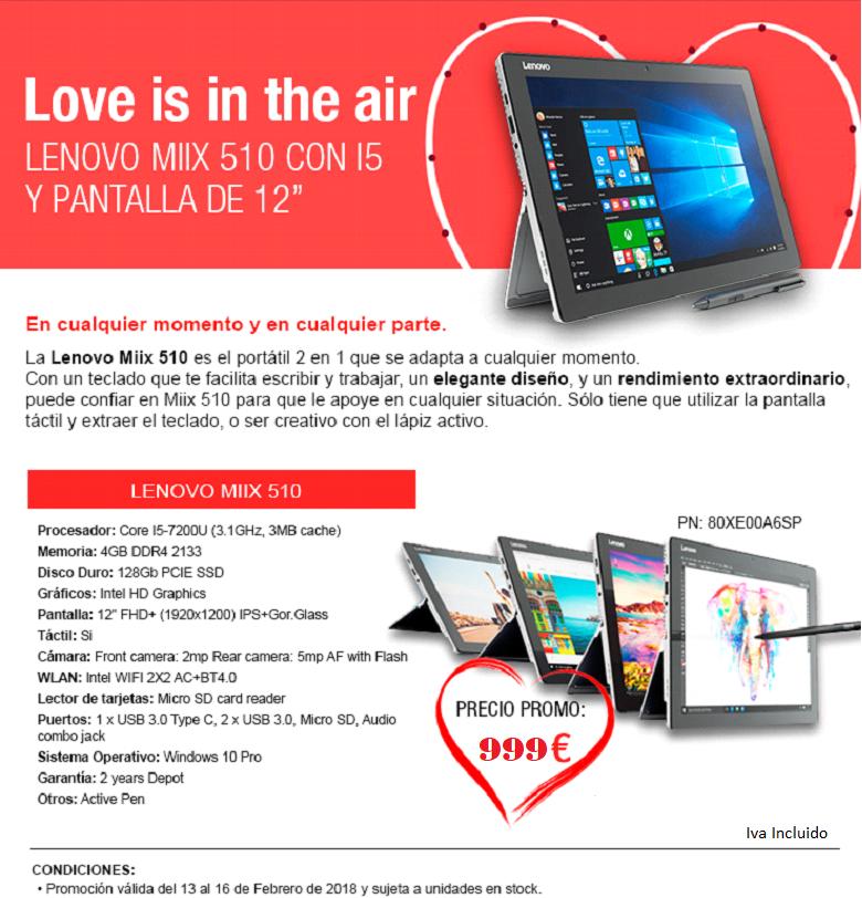 Promoción Día de los Enamorados
