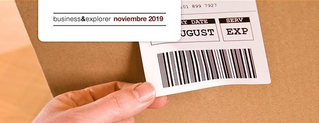etiqueta logística y almacén