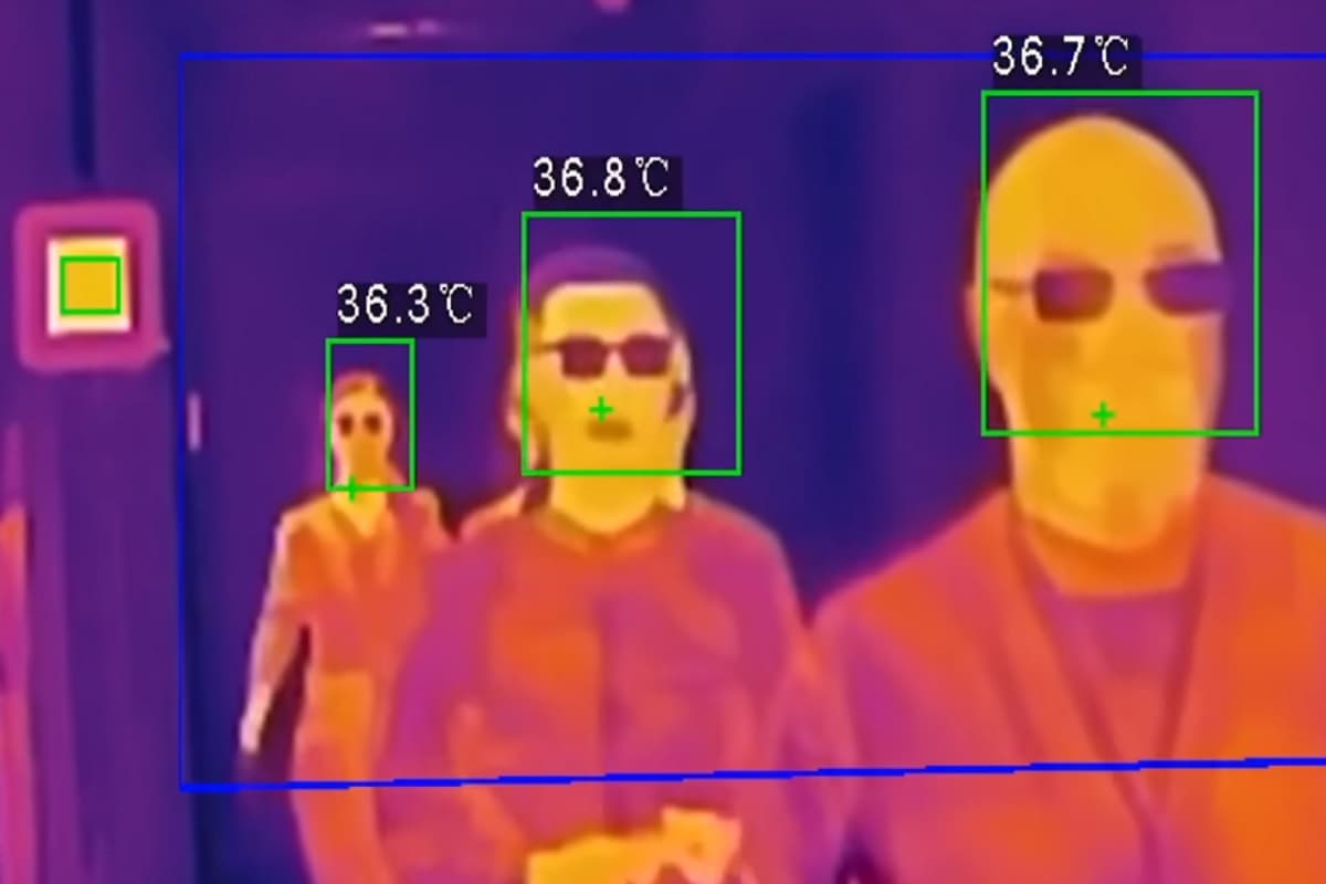 Detectar el Covid-19 con cámaras termográficas