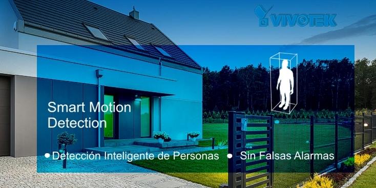 Detección de personas inteligente con cámaras IP