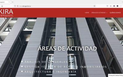 Diseño Web para Akira Gestión